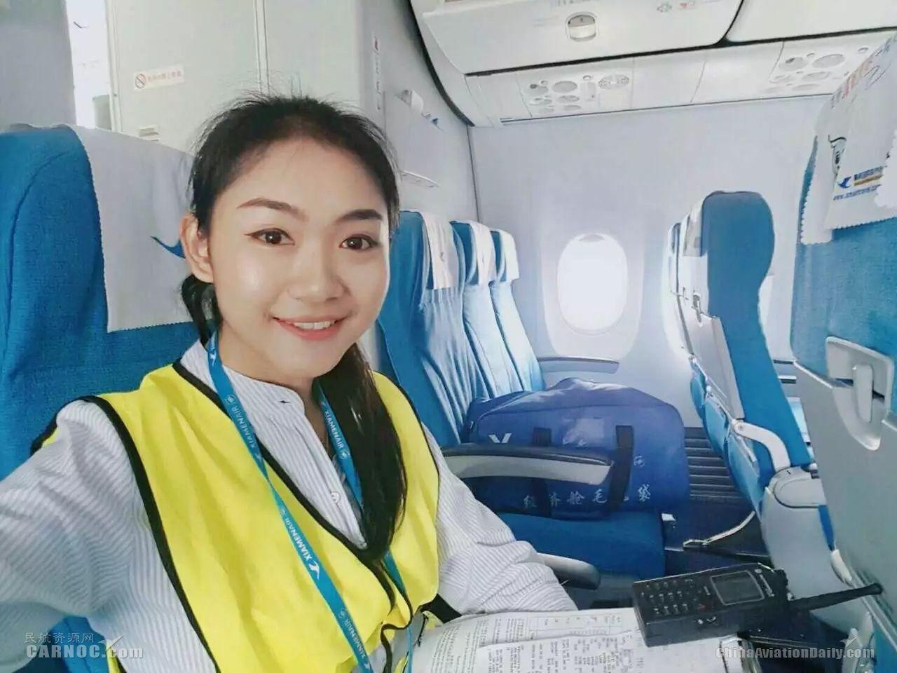 厦航普吉开航故事:一位泰国姑娘的坚持与成长