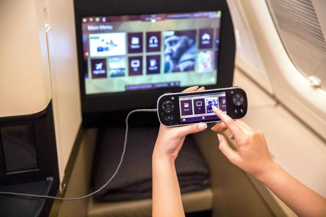 机上娱乐系统功能日渐强大,也是IT技术发展的结果