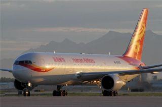 十六年光荣与梦想,再见海航波音767飞机