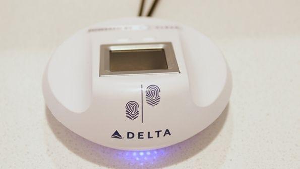 达美航空美国休息室需指纹识别进入