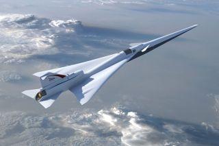 洛克希德公司为NASA制造低声爆超音速验证机