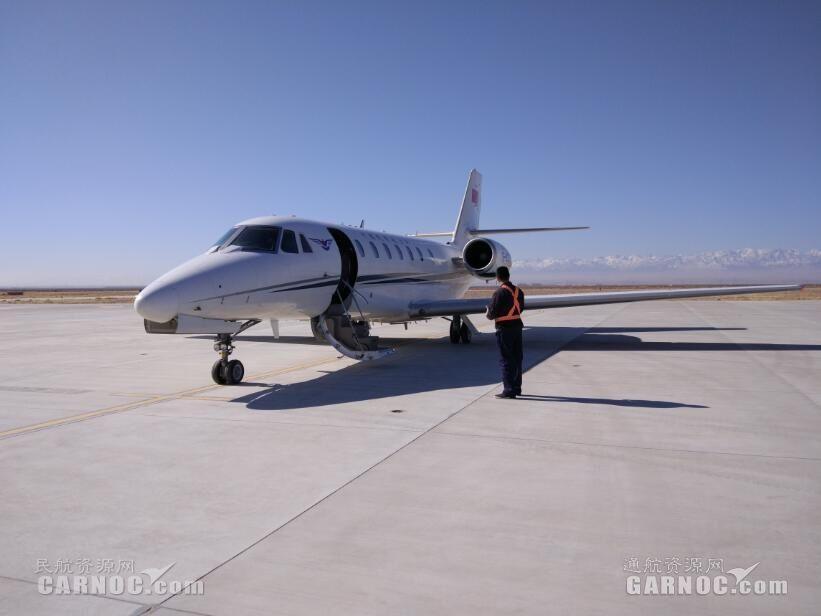 张掖机场顺利完成导航设备定期飞行校验工作