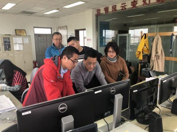 首都机场人工气象观测场升级项目通过验收