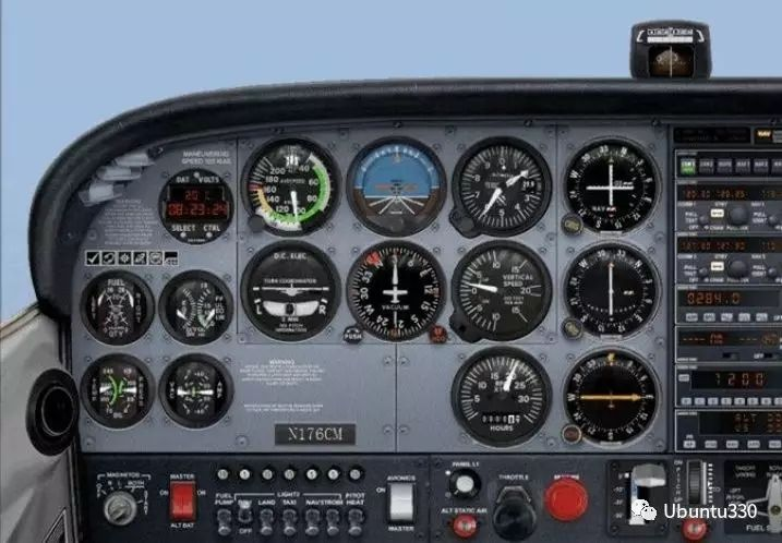 通航谜题-空中游览。图/Ubuntu330