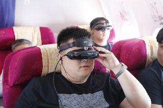 国内首家空中3D影院在山航上线