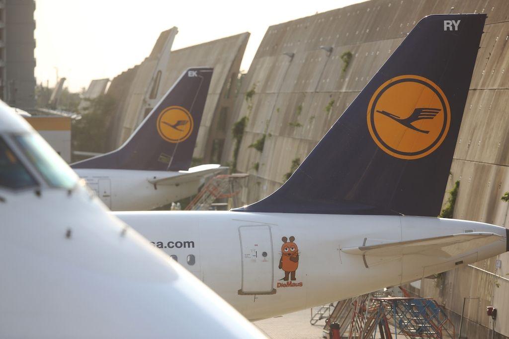 德公共部门罢工 汉莎800多架次航班受到影响