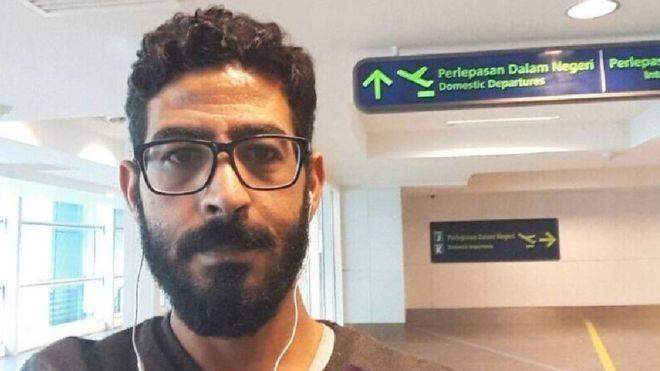 受战争影响 叙利亚男子在机场滞留数星期