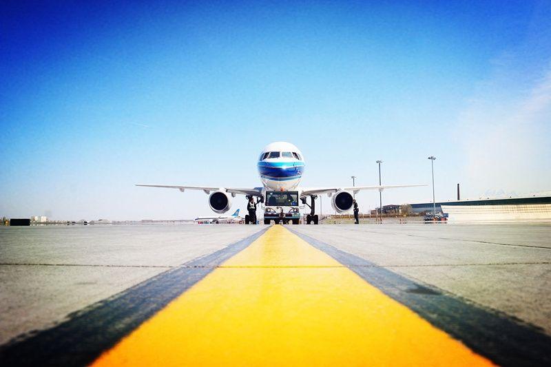 """南航新疆机务:再见  我的""""空中美男子"""""""
