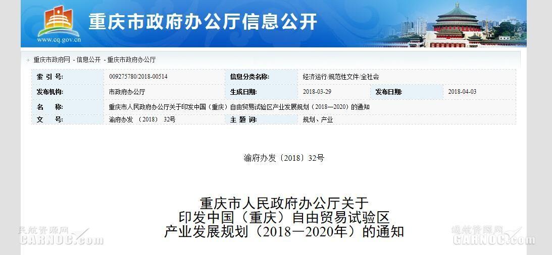 重庆自贸区:推动轻型直升机、通用飞机产业化