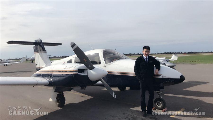 """北部湾航空第一届飞行学员单发""""毕业""""了"""