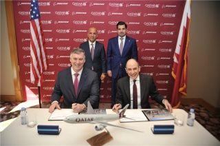 卡塔尔航空签署购买5架波音777货机意向书