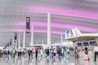 白云机场举行2号航站楼启用前第四次综合演练