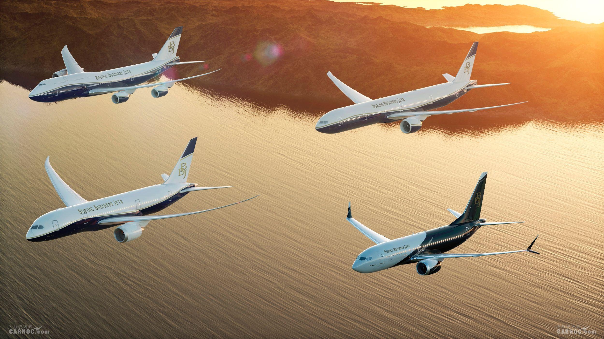 波音携BBJ公务机亮相2018年亚洲公务航空大会