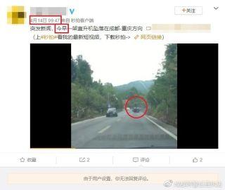 """网传""""直升机坠落在成都""""? 成都网警辟谣"""