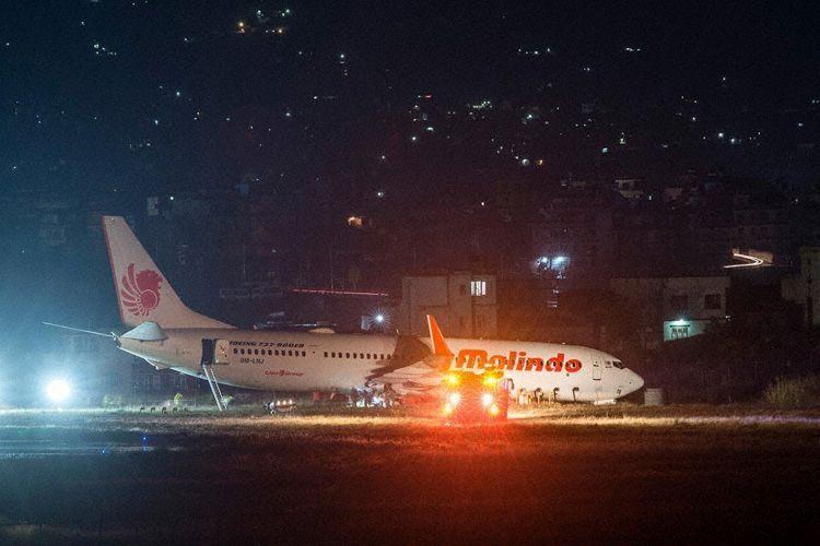 马印航空客机取消起飞后冲出跑道,无受伤报告
