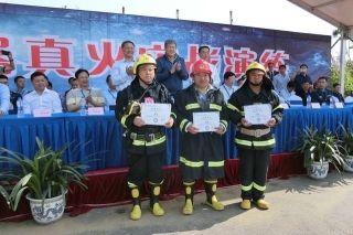 中国首例B737-800全尺寸真火实训系统建立