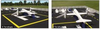 垂直起降技术让TF-2几乎可以做到即时飞行,并实现点到点运输效率的最大化。