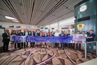 澜湄航空开通金边=新加坡航线