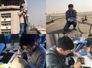 天津空管分局完成通信监视设备换季维护工作