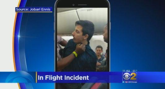 男子飞机上非礼女乘客遭警方逮捕