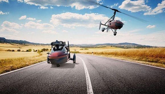 10分钟从汽车变飞机 首款飞行汽车即将上路