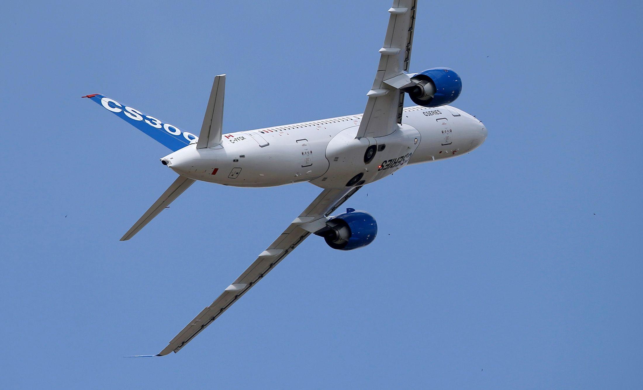 收购完成后,空客或为庞巴迪C系列飞机改名