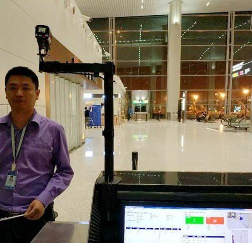 人脸识别技术启用 白云机场打造无纸化登机