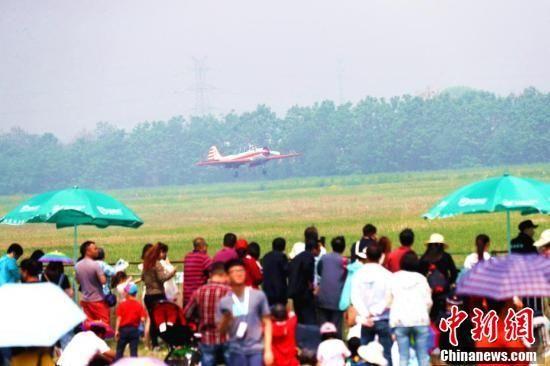 2018鄭州航展開幕