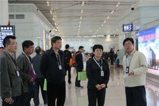 中国民用机场协会理事长王瑞萍调研襄阳机场