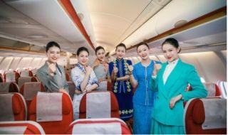 海南航空举办25周年重温首航活动
