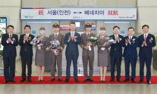 5月1日起 韩亚航空新开威尼斯航线