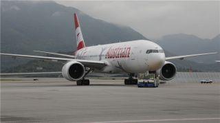 奥地利航空全新波音777以新涂装亮相