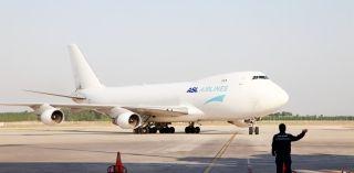 济南首条洲际货运航线开通 波音747执飞