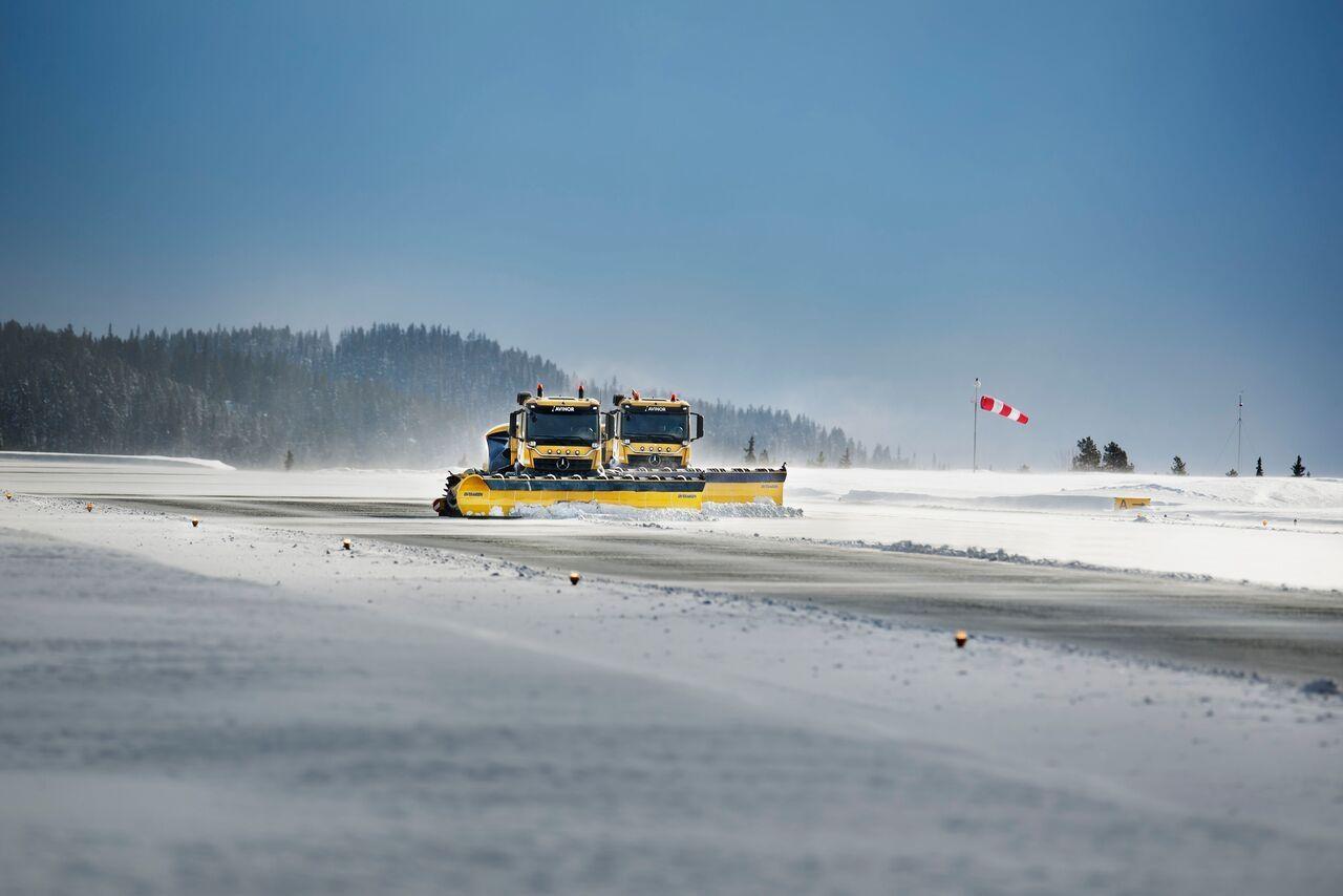 Yeti公司无人驾驶扫雪车