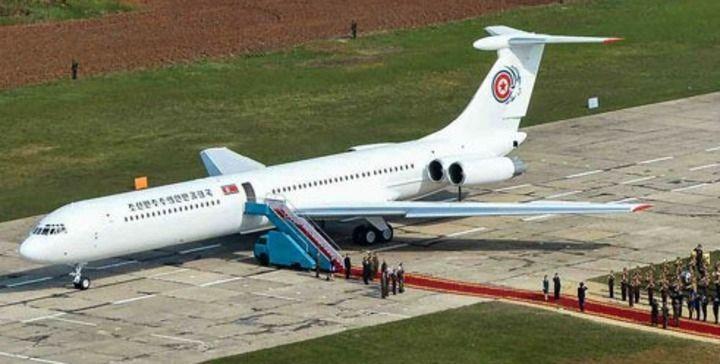 6月12日,这架飞机将载着金正恩抵达新加坡?
