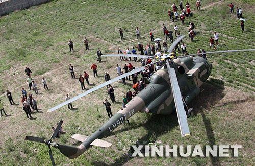 军事专家:中国军队航空救援能力明显提升