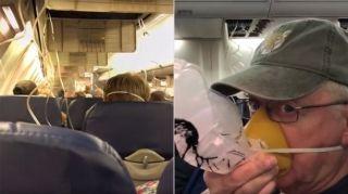 西南航空客机失压 乘客经历惊魂一刻