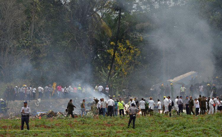 墨西哥民航局:古巴坠毁客机5名机组为墨公民