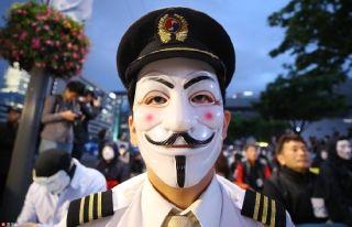 大韩航空员工集会抗议 反对CEO及其家庭
