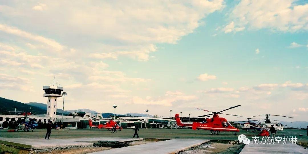 云南五架直升机齐动员!再护苍洱绿水青山