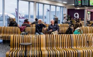 高密度座椅设计让机场航站楼大不同