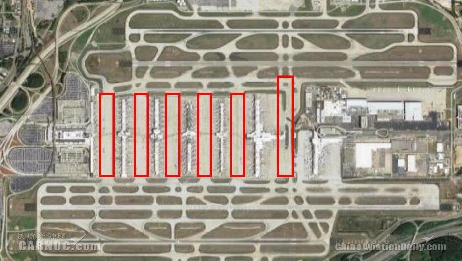 亚特兰大机场垂直联络道设置