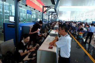 温州机场T2航站楼6月1日起正式启用