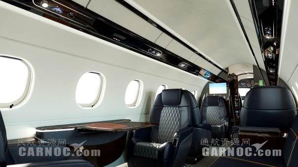 莱格赛450、500新座椅设计方案将亮相EBACE