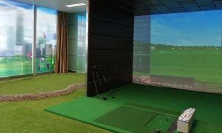 乌海机场高尔夫体验厅开门迎客