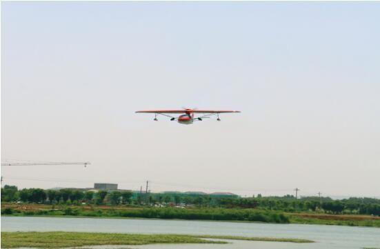 句容茅山景区直升机空中游览项目成功试飞