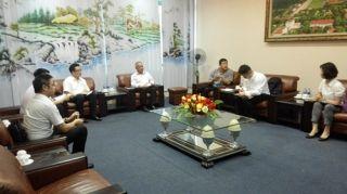 龙浩航空赴越南河内考察国际航线相关工作