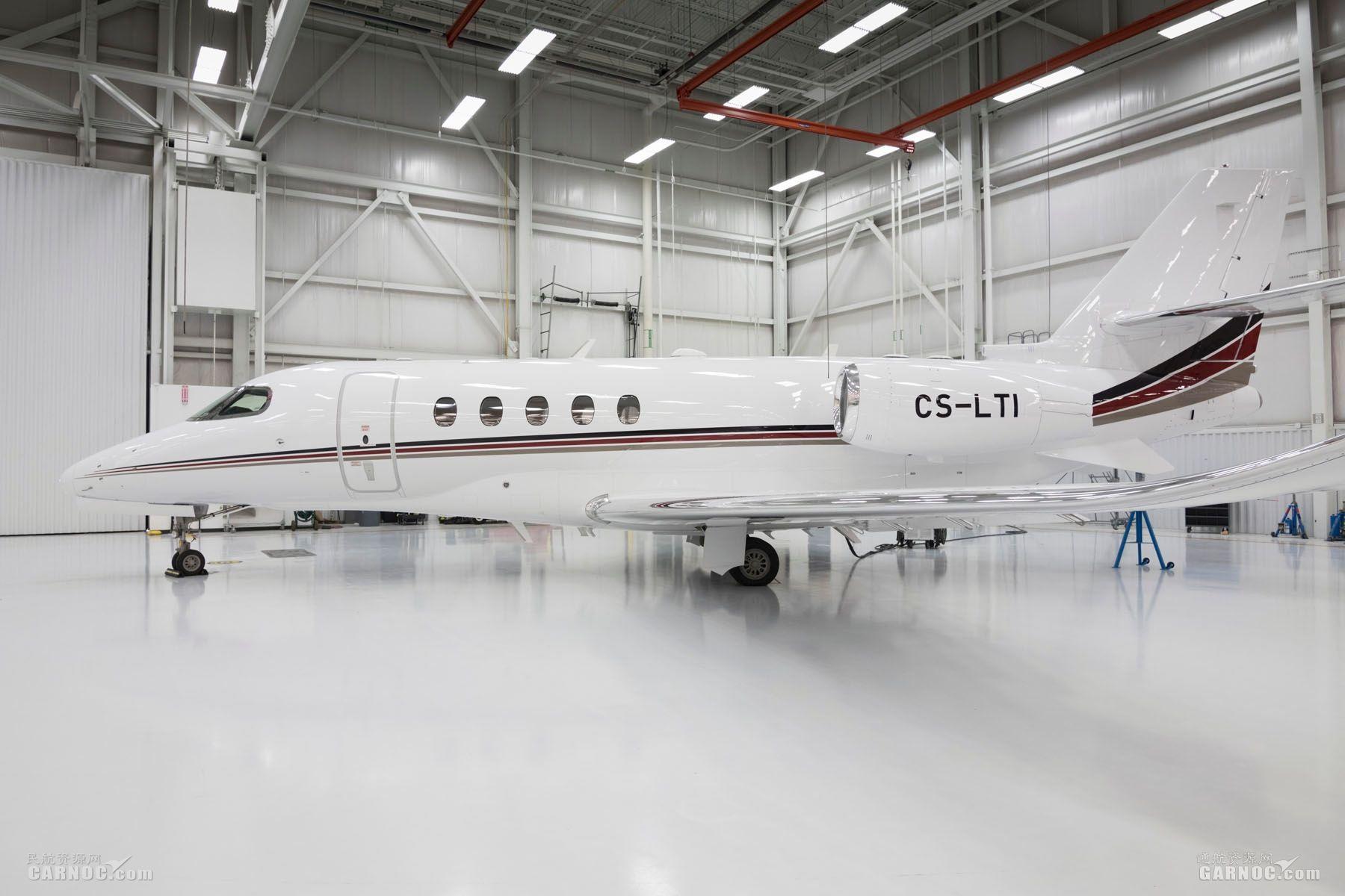 利捷航空欧洲区第九架奖状680A纬度顺利交付