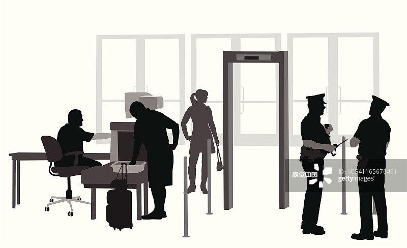 民航安检安保周报:步态识别技术助力机场安检