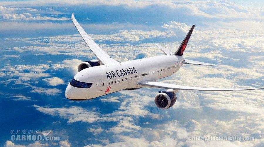 加拿大航空恢复加中客运航线运营
